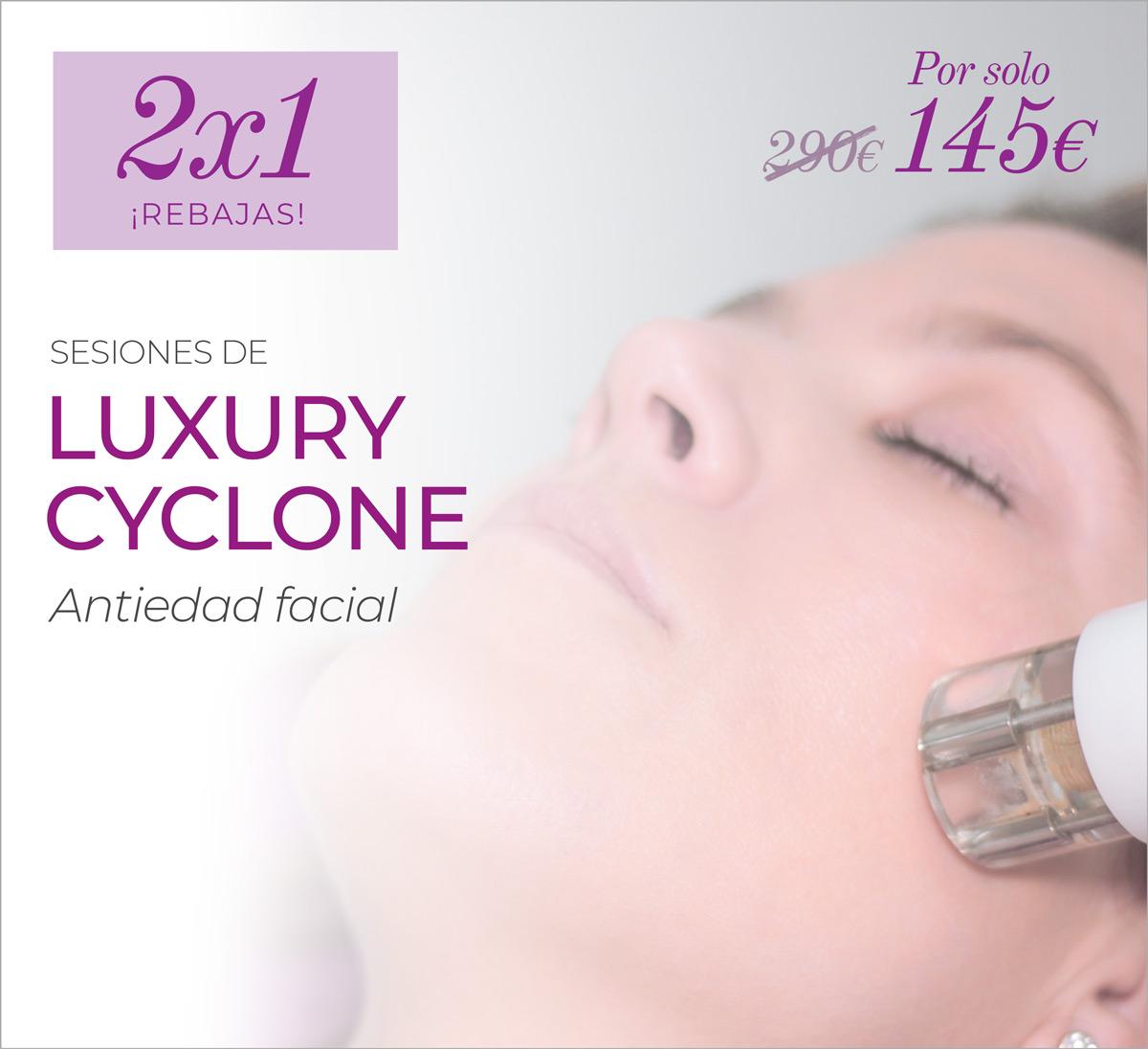 2×1 En Luxury Cyclone Facial Para Iluminar Tu Rostro