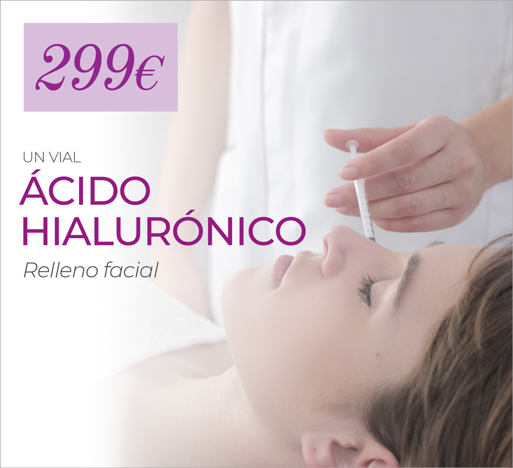 1 Vial De Relleno Facial Con ácido Hialurónico