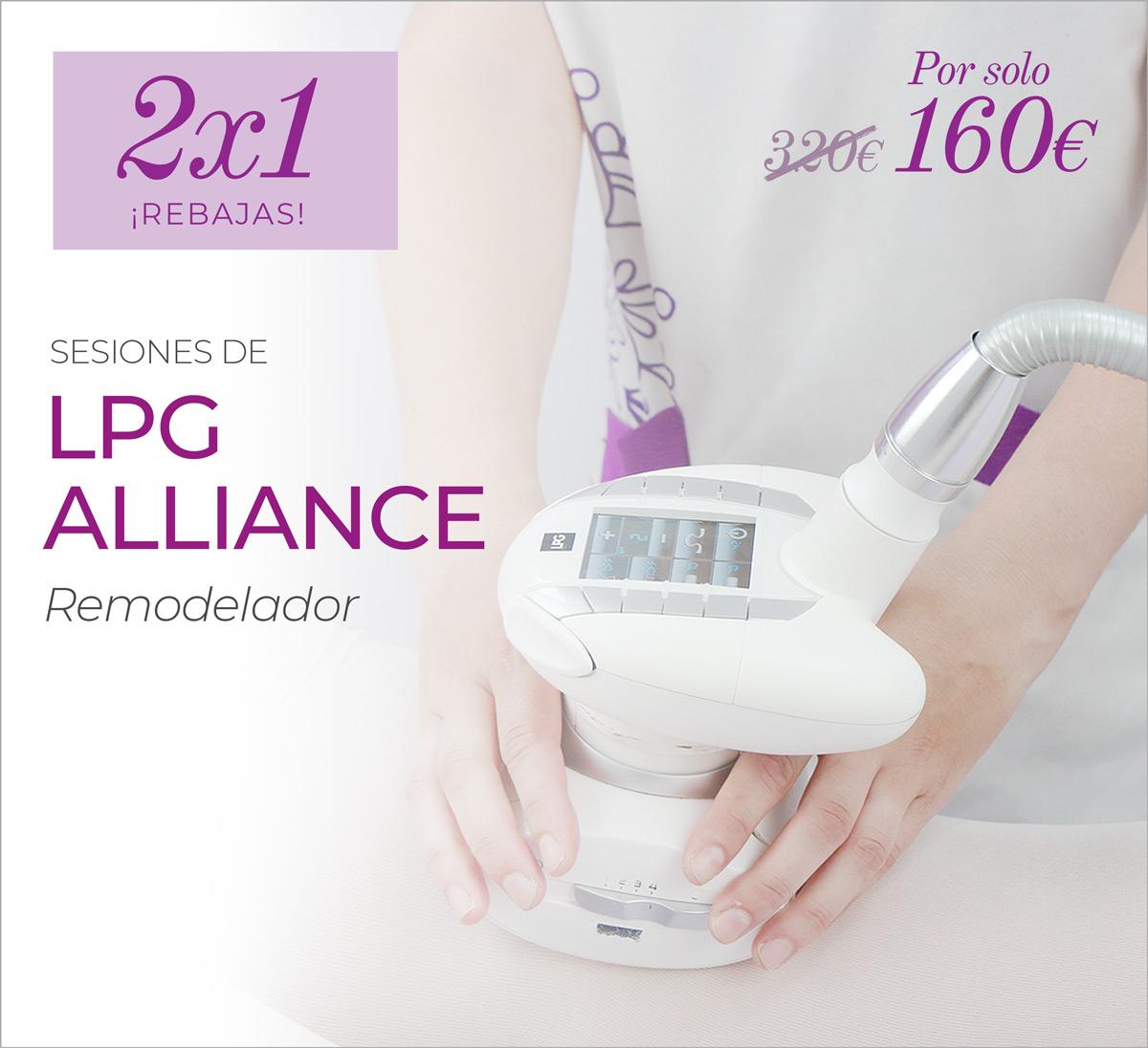 2×1 En Remodelador Corporal LPG Alliance