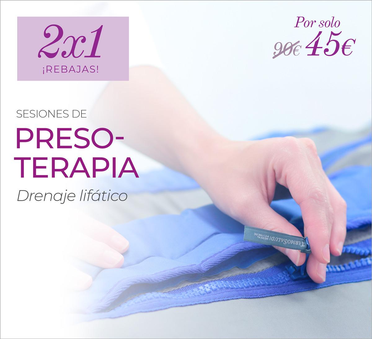 2×1 En Presoterapia Drenante LinfoPress